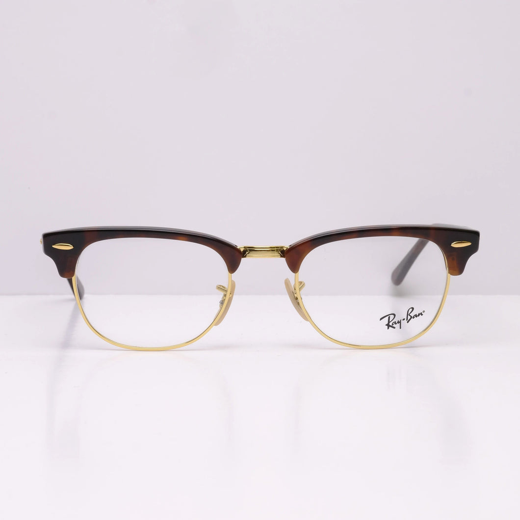 Ray Ban Clubmaster RX5154 - Red Havana 5969 49x21