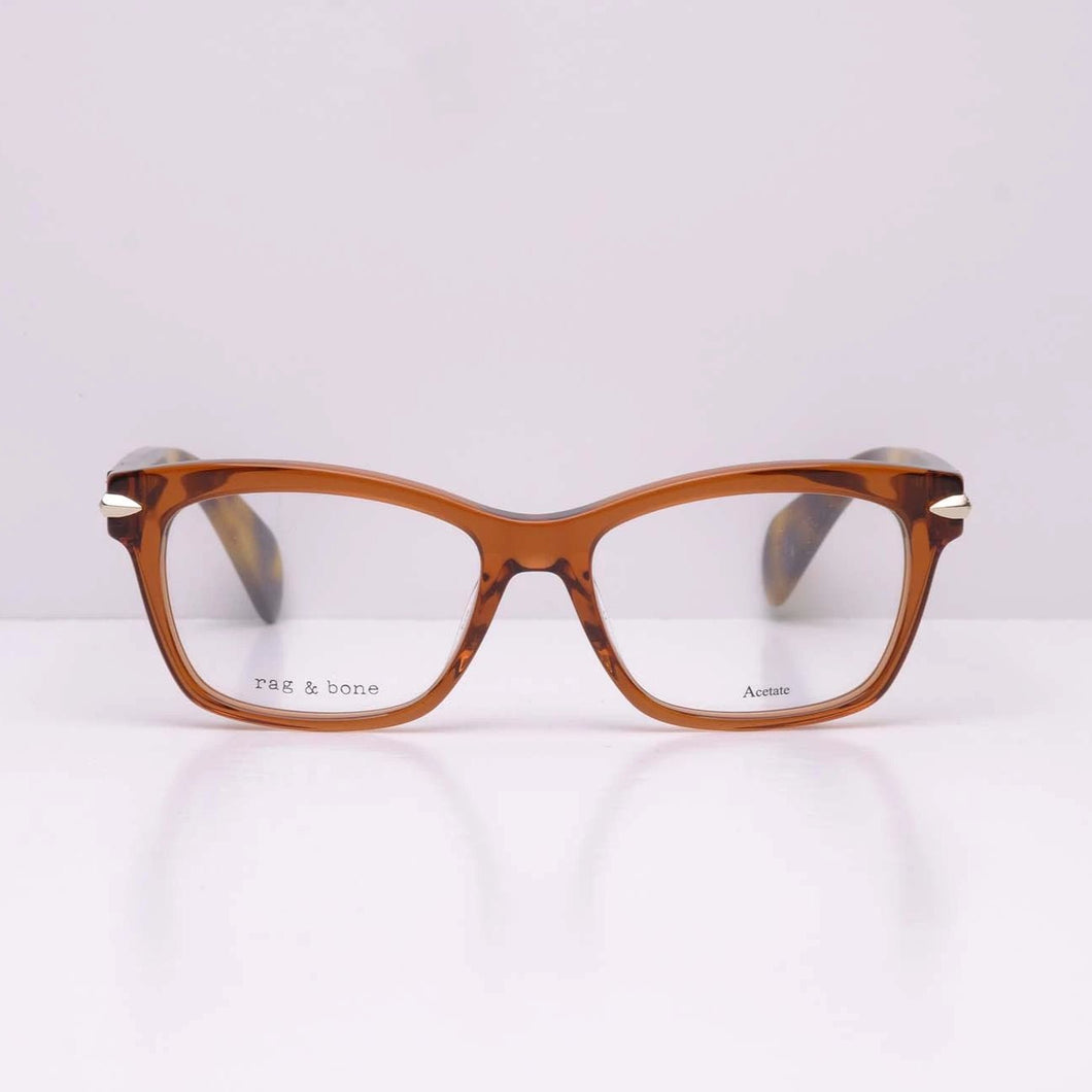 Rag & Bone RNB3004 - Brown Havana 086 50x16