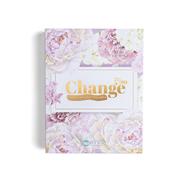 Pink Floral Change Notebook