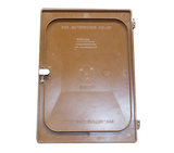Mitras Brown Recessed Electricity Meter Box Door
