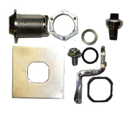 Metal Meter Box Latch Kit