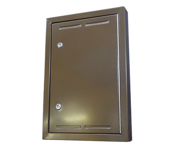 Brown Aluminium Architrave Overbox