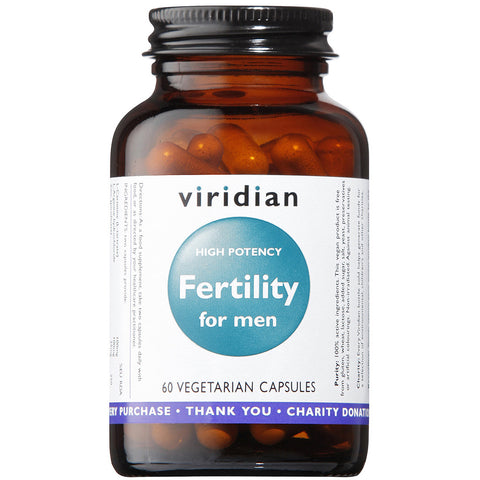 Fertility for Men Veg Caps (high potency)