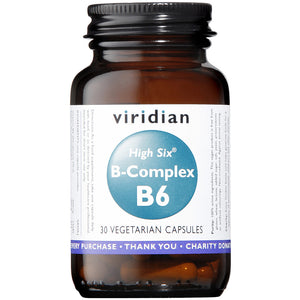 HIGH SIX™ Vitamin B6 with B-Complex Veg Caps