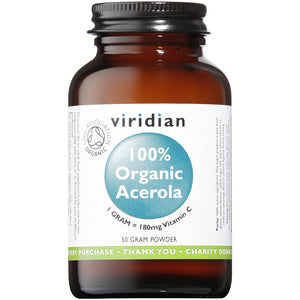 Vitamin C Powder  Organic Kosher Vegan Made From Acerola Cherry