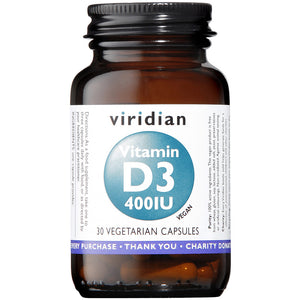 Vitamin D3 (Vegan) 400iu Veg Caps
