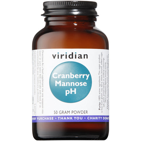Cranberry Mannose pH 50g Powder