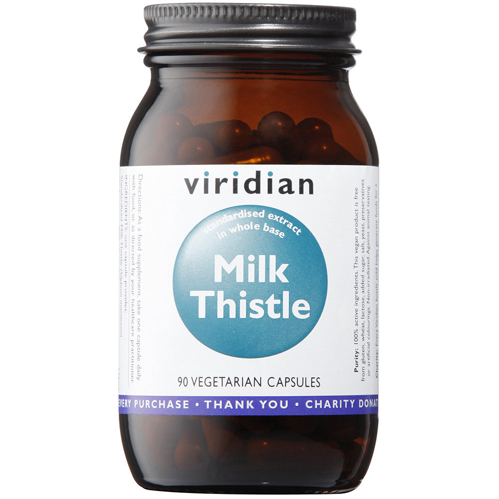 Milk Thistle Herb/Seed Extract Veg Caps