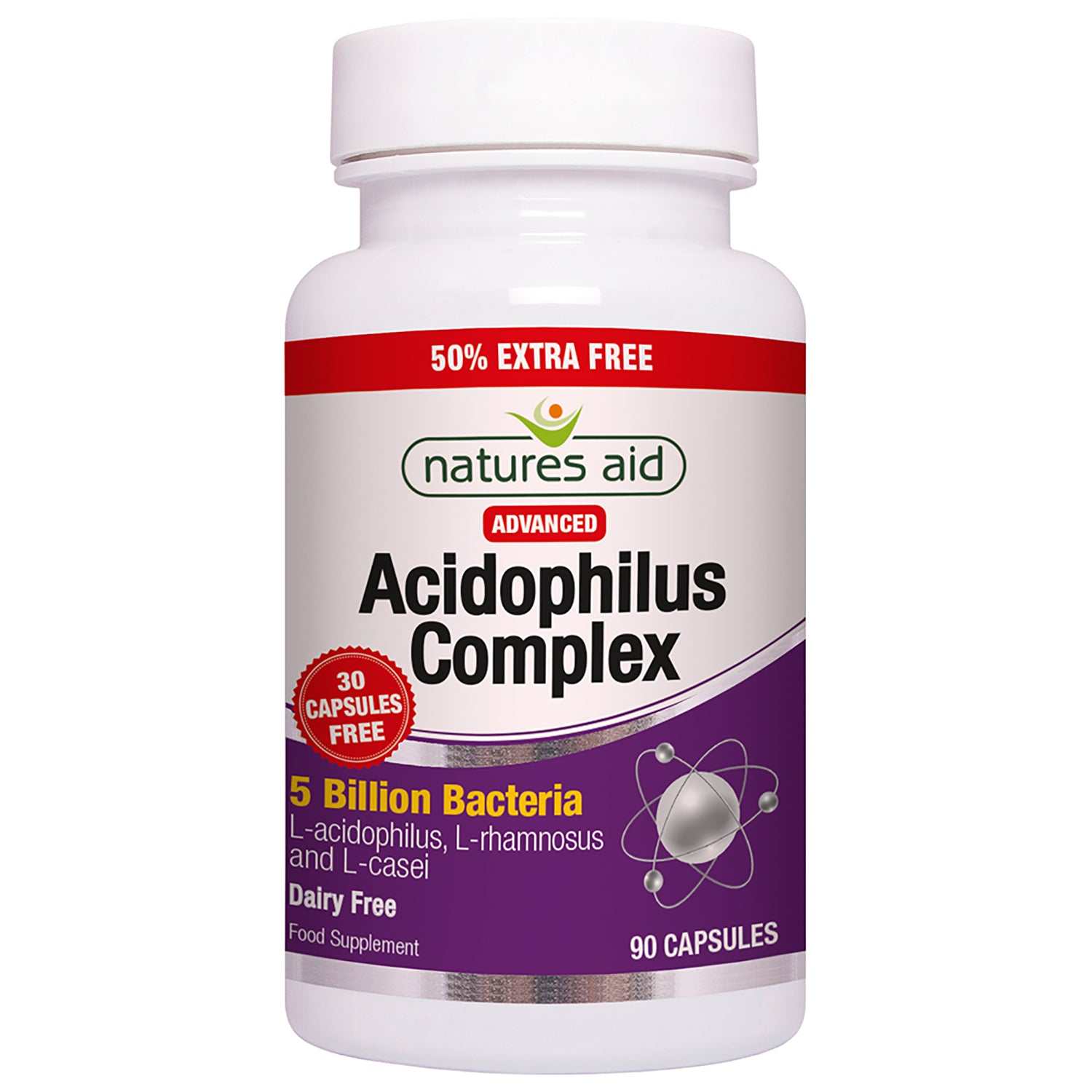 Acidophilus Complex (5 Billion Bacteria)