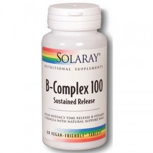 Solaray B Complex 100 - Sustained relief