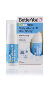 DLux1000 1000IU (25μg) daily vitamin D oral spray