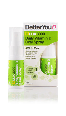 DLux3000 3000IU (75μg) daily vitamin D oral spray