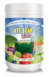 Vital Kids Berry Flavoured Powder