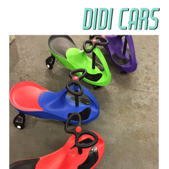 Didi Cars are the no pedals, no motors, no batteries, self propelled cars