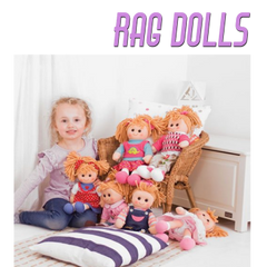 Our BigJigs Rag dolls are any little girls best friend