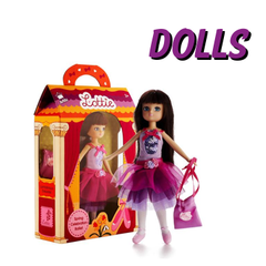 Lottie Dolls are modeled on real 9 year old girls