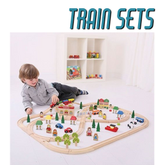 Awesome bigjigs wooden toy train sets