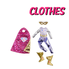 No Lottie Doll is complete without her range of clothing