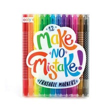 Make No Mistakes Erasable Markers - Set of 12