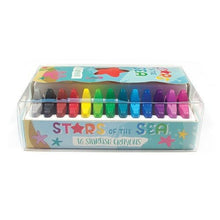 Stars Of The Sea Starfish Crayons - Set of 16