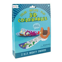 3D Colourables - Mighty Swords - Set of 2
