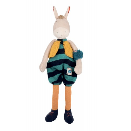 Hi, I'm Zadig! I'm part of the Zig et Zag band, the new collection by Moulin Roty. We are a group of musicians