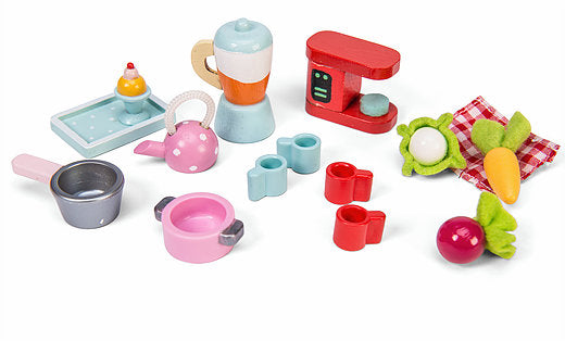 Le Toy Van's Tea-time Kitchen Accessory Pack