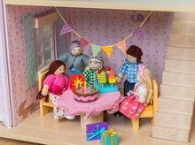 Le Toy Van's Party Time Dolls House Accessory Pack in action