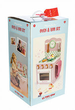 Le Toy Van's Honeybubbles Oven and Hob packaging