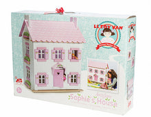 Le Toy Van's Sophie's 3 Storey Dollhouse packaging