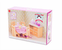 Le Toy Van's Sugar Plum Dining Room packaging