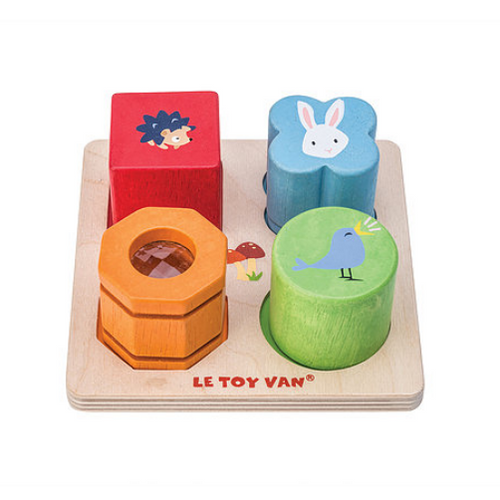 Le Toy Van's Petilou Four Piece Sensory Tray Set