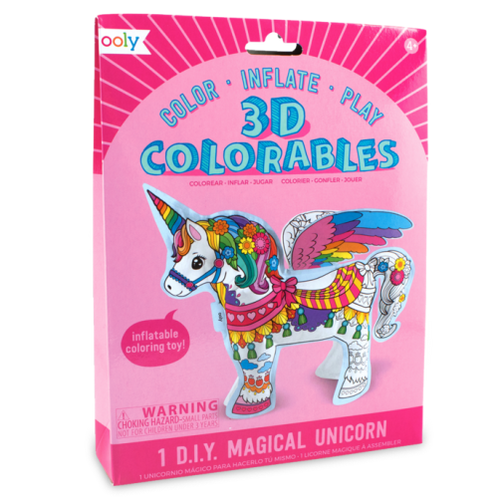 3D Colourables - Magical Unicorn - Set of 1