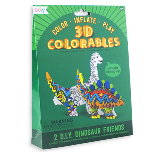 3d Colourables - Dinosaur Friends - Set of 2