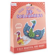 3D Colourables - Beautiful Birds Masks - Set of 2
