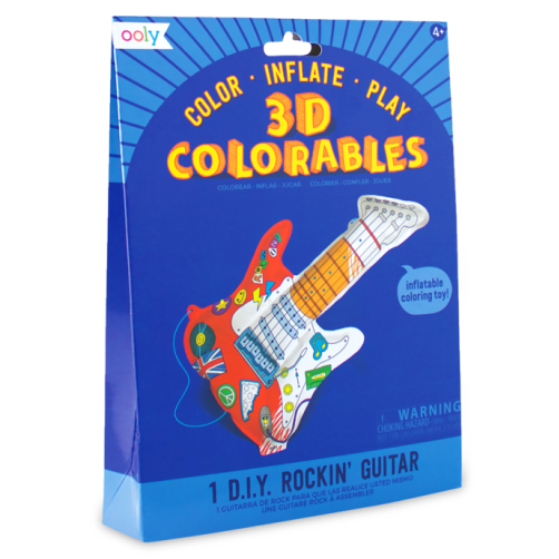3D Colourables - Rockin' Guitar - Set of 1
