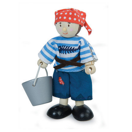 Le Toy Van's Budkins Pirate Boy