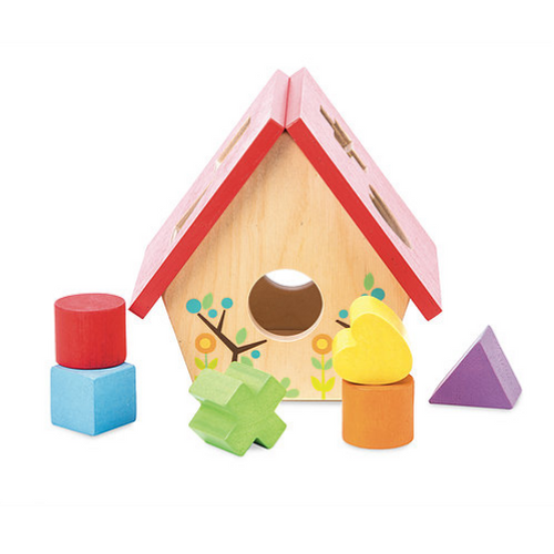 Le Toy Van's Petilou My Little Bird House Shape Sorter