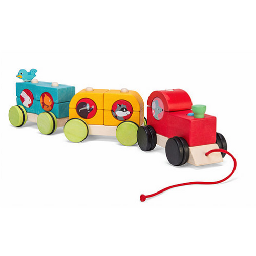 Le Toy Van's Petilou Train Woodland Express