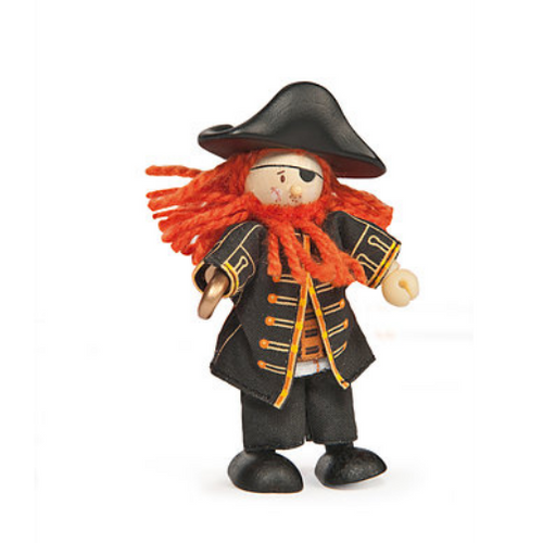Le Toy Van's Budkins Pirate Barbarossa
