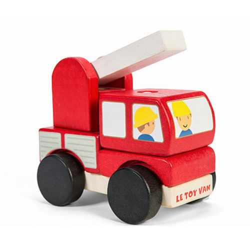 Le Toy Van's Fire Engine Stacker