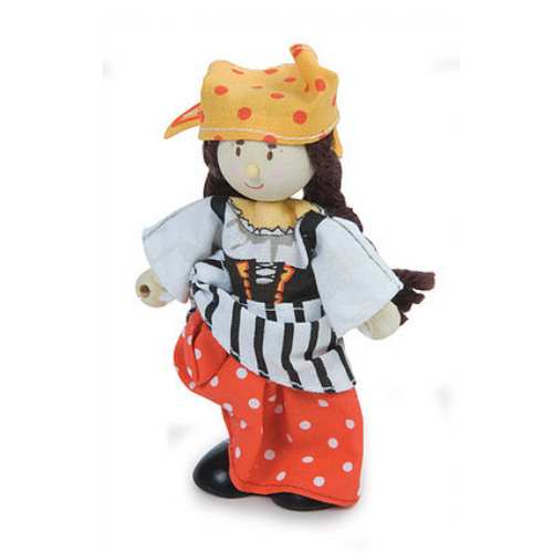 Le Toy Van's Budkins Pirate Girl