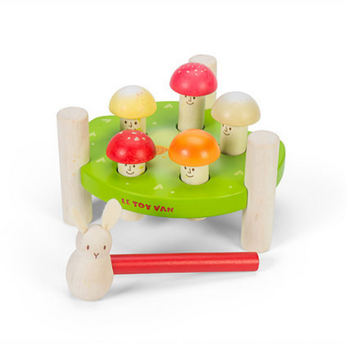 Le Toy Van's Petilou Mr Mushroom Hammer Game
