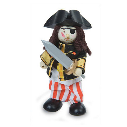Le Toy Van's Budkins Eye Patch Pirate