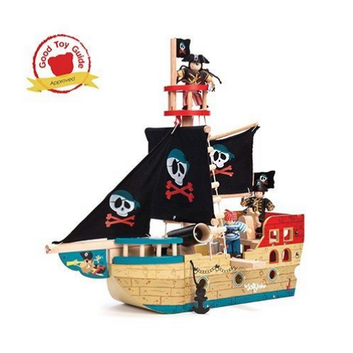 Le Toy Van's Jolly wooden Pirate Ship
