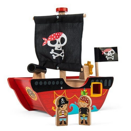 Le Toy Van's Little Captain Pirate Boat