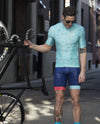 Men's Blue Shapes Jersey