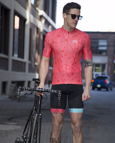 pushr mens coral jersey