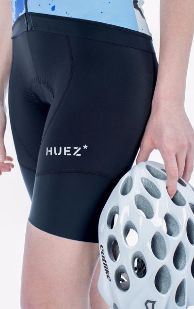 HUEZ Cycling Bibs & Shorts - Bia Bib Shorts | Black