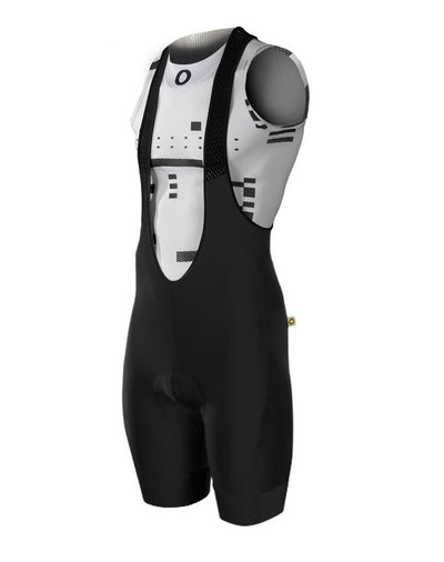 Pedla Mens Cycling Bibs & Shorts - Long Haul G2 Bib | Black